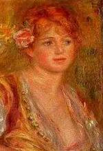 Andrée Madeleine Heuschling  peinte par Renoir.