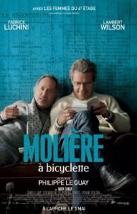 Affiche du film Molière à bicyclette