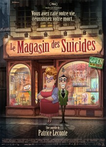 Le Magasin des suicides - Affiche