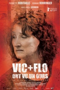 Vic + Flo ont vu un ours - affiche