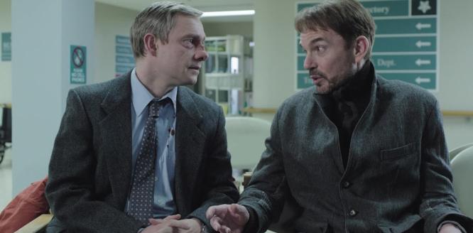 Deux personnages de Fargo