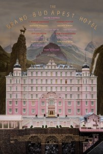 Dessin du Grand Budapest Hotel