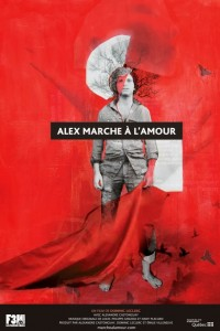 Alex marche à l'amour - affiche