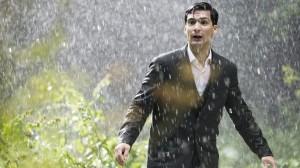 Henri sous la pluie