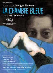 La chambre bleue - affiche