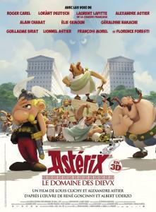 L'Affiche du film Astérix - Le Domaine des Dieux