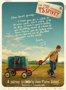 L'affiche de The Young and Prodigious T.S. Spivet