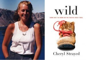 Couverture du livre Wild et de son auteure, Cheryl Strayed