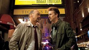 Riggan et Mike dans Birdman