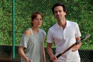 Claire et David dans Une nouvelle amie