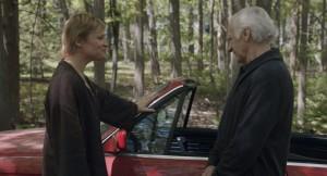 Katia et Nicolas dans Le journal d'un vieil homme