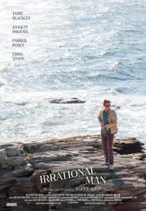 "Affiche du film ""Irrational man"" de Woody Allen"