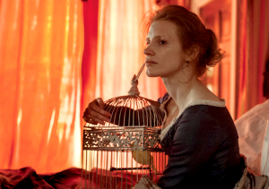 Jessica Chastain dans Miss Julie.