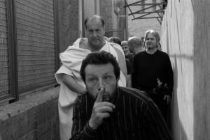 """Scène du film """"Cesare deve morire"""""""
