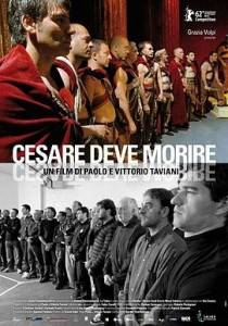 """Affiche du film """"Cesare deve morire"""""""