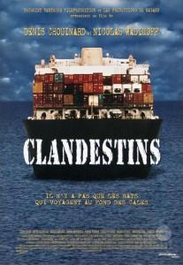 Affiche du film Clandestins de Denis Chouinard et Nicolas Wadimoff