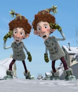 Les jumeaux Leroux dans La guerre des tuques 3D