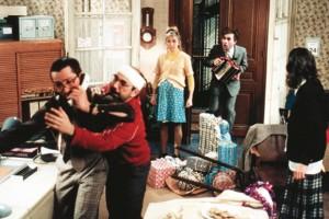 Pierre, Félix, Josette, Zadko et Thérès dans Le père Noël est une ordure.