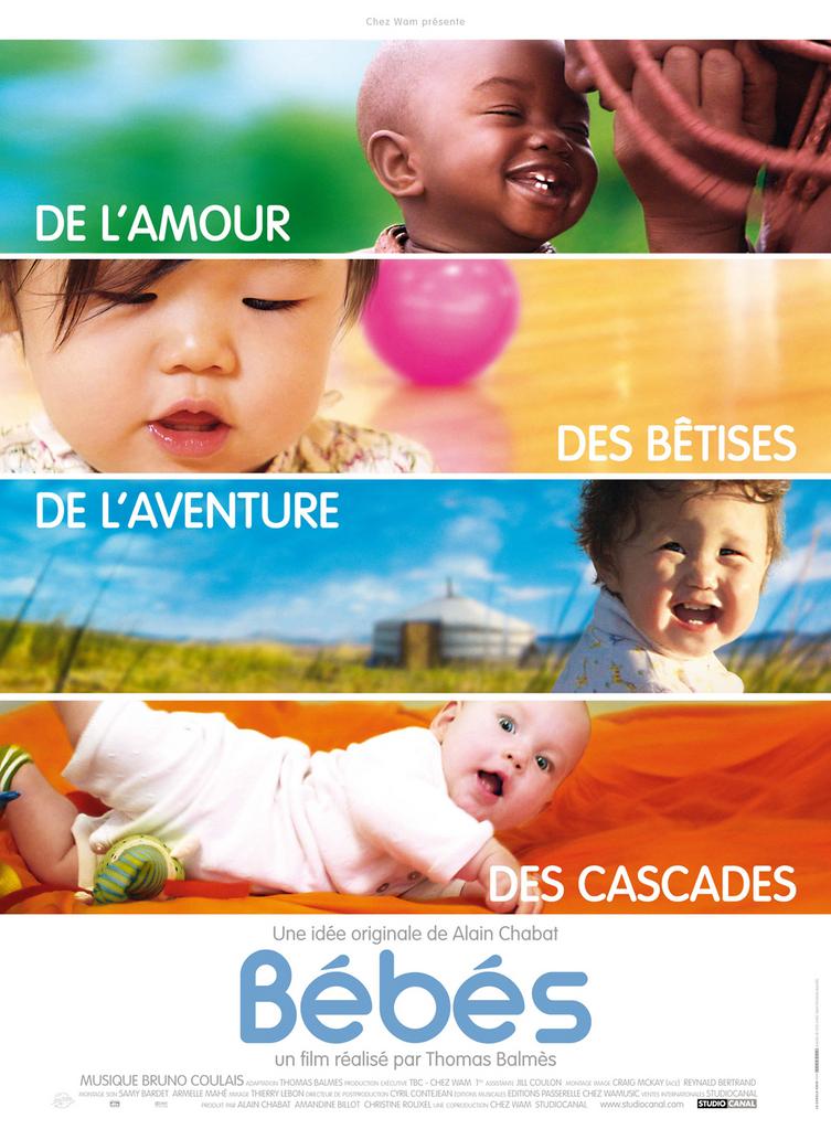 Affiche du documentaire Bébés de Thomas Balmès