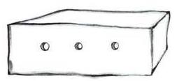Le dessin du mouton par l'aviateur, dans Le Petit Prince