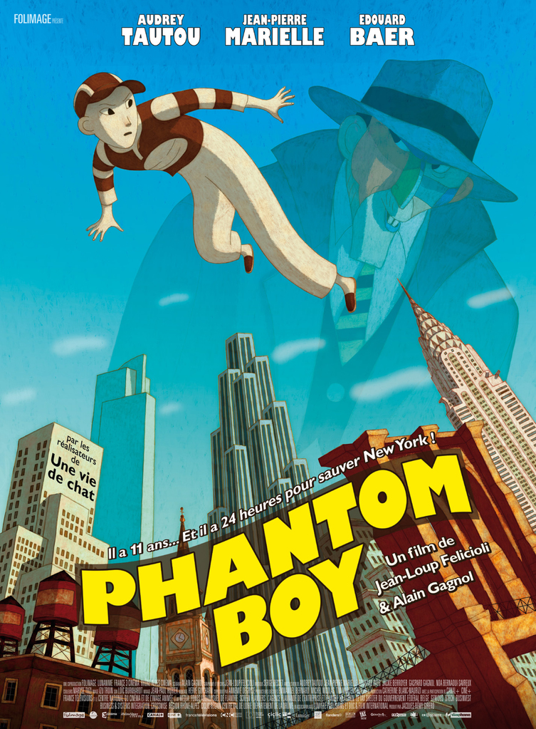 Affiche de Phantom Boy
