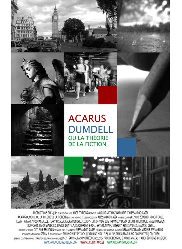 Affiche de Acarus Dumdell ou la théorie de la fiction