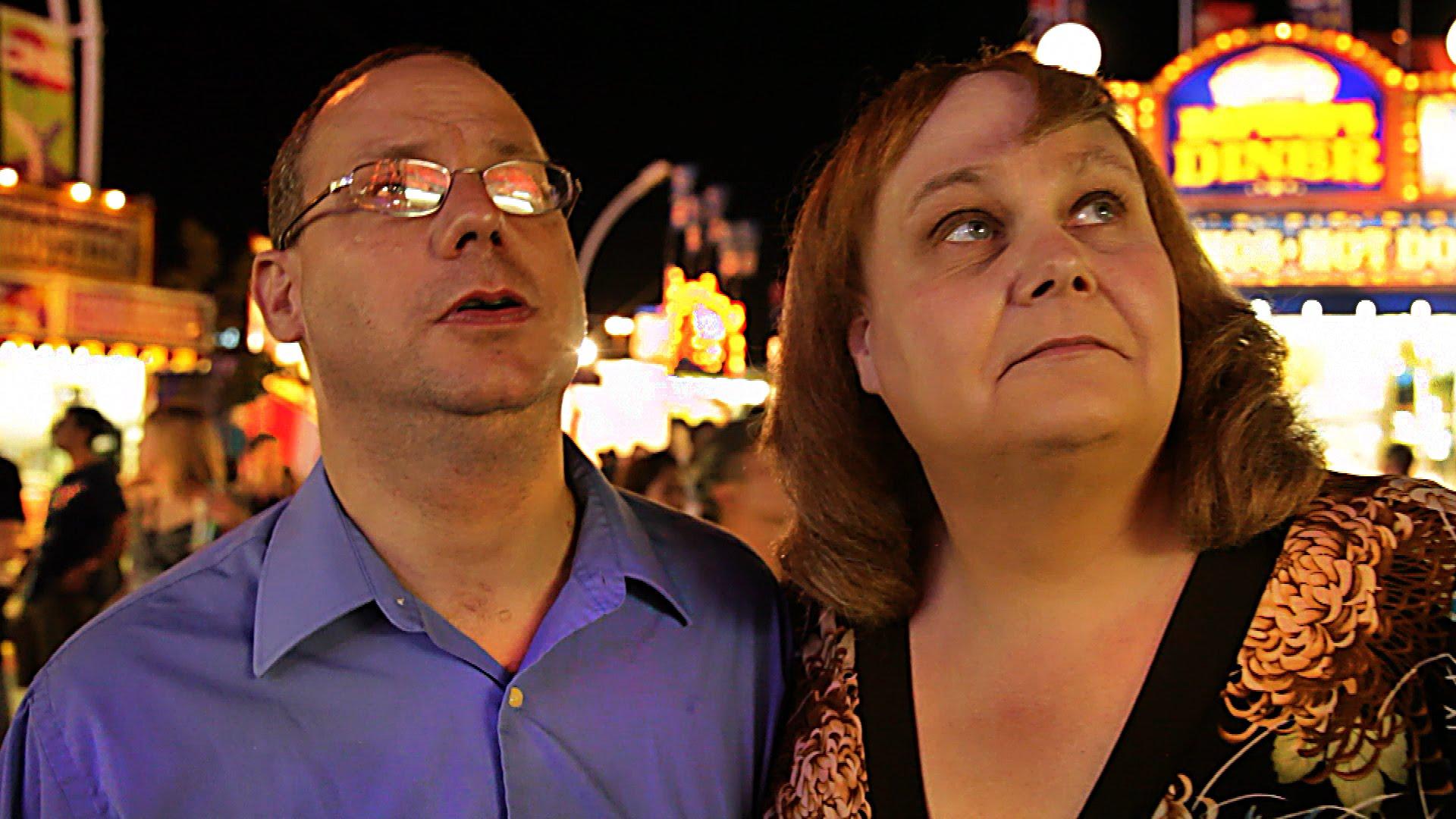 John et Martine, dans Transfixed