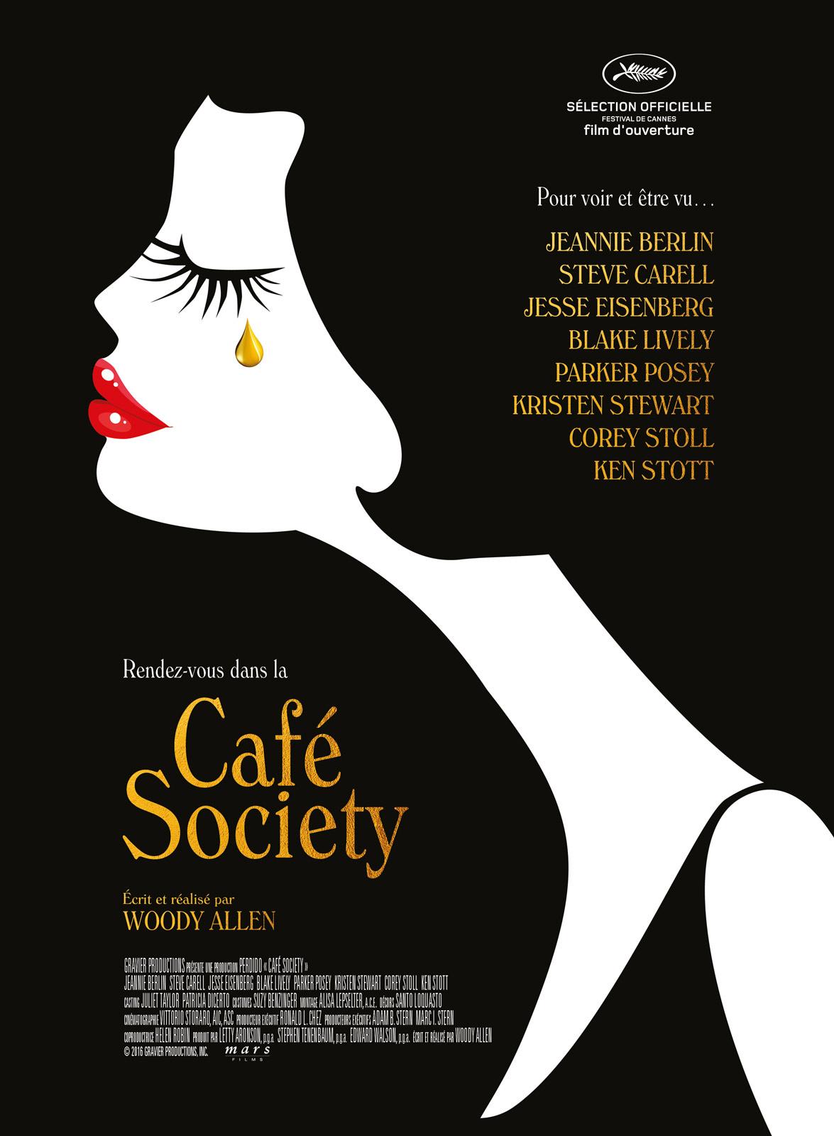 Affiche de Café Society