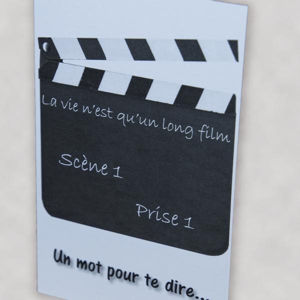 Carte - La vie n'est qu'un long film - Lin - 1
