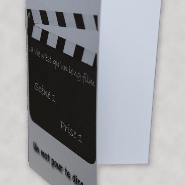 Carte - La vie n'est qu'un long film - Lin - 2