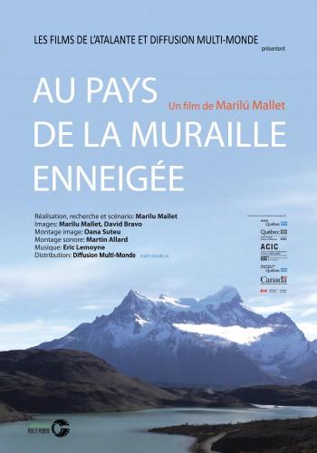 Affiche du documentaire Au pays de la muraille enneigée