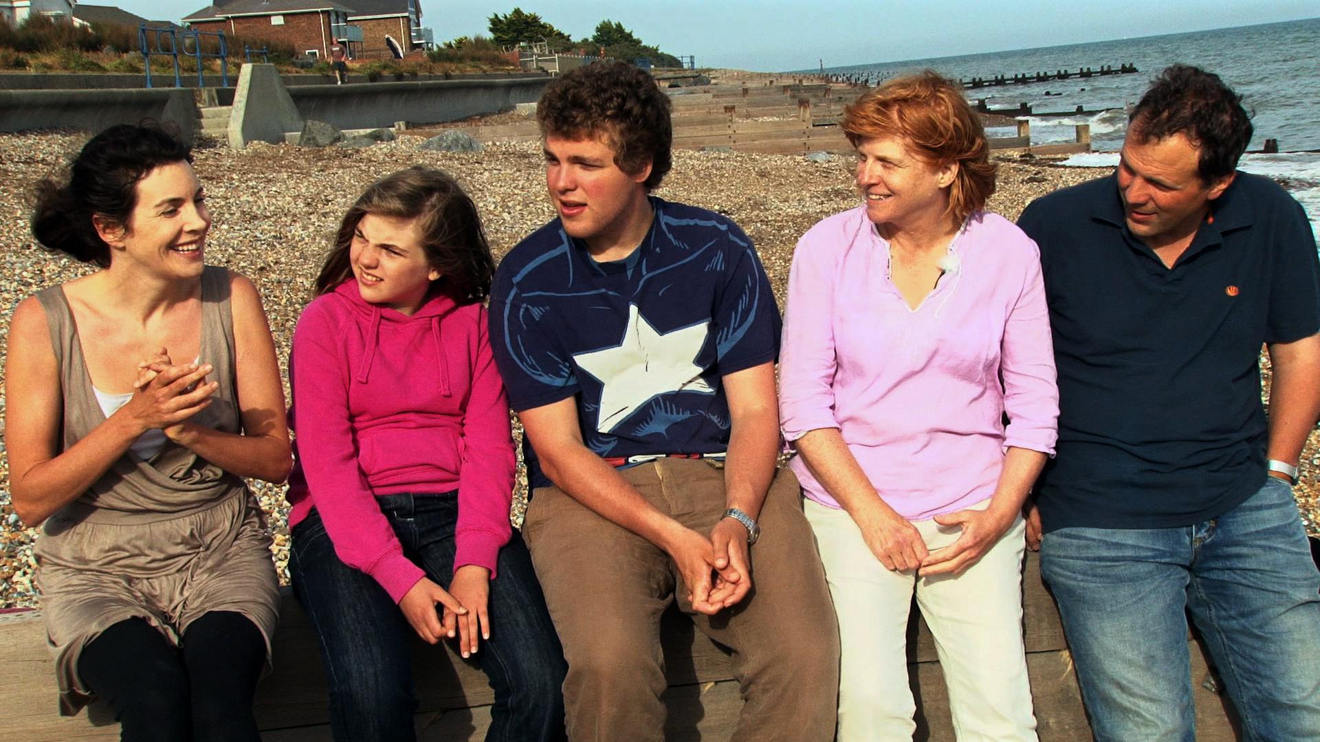 La famille Tavaler dans Être et devenir