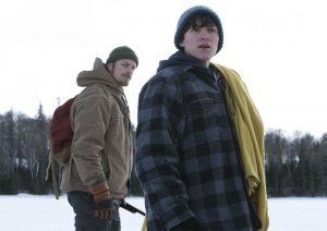 Le père et le fils dans la neige - Edge of Winter