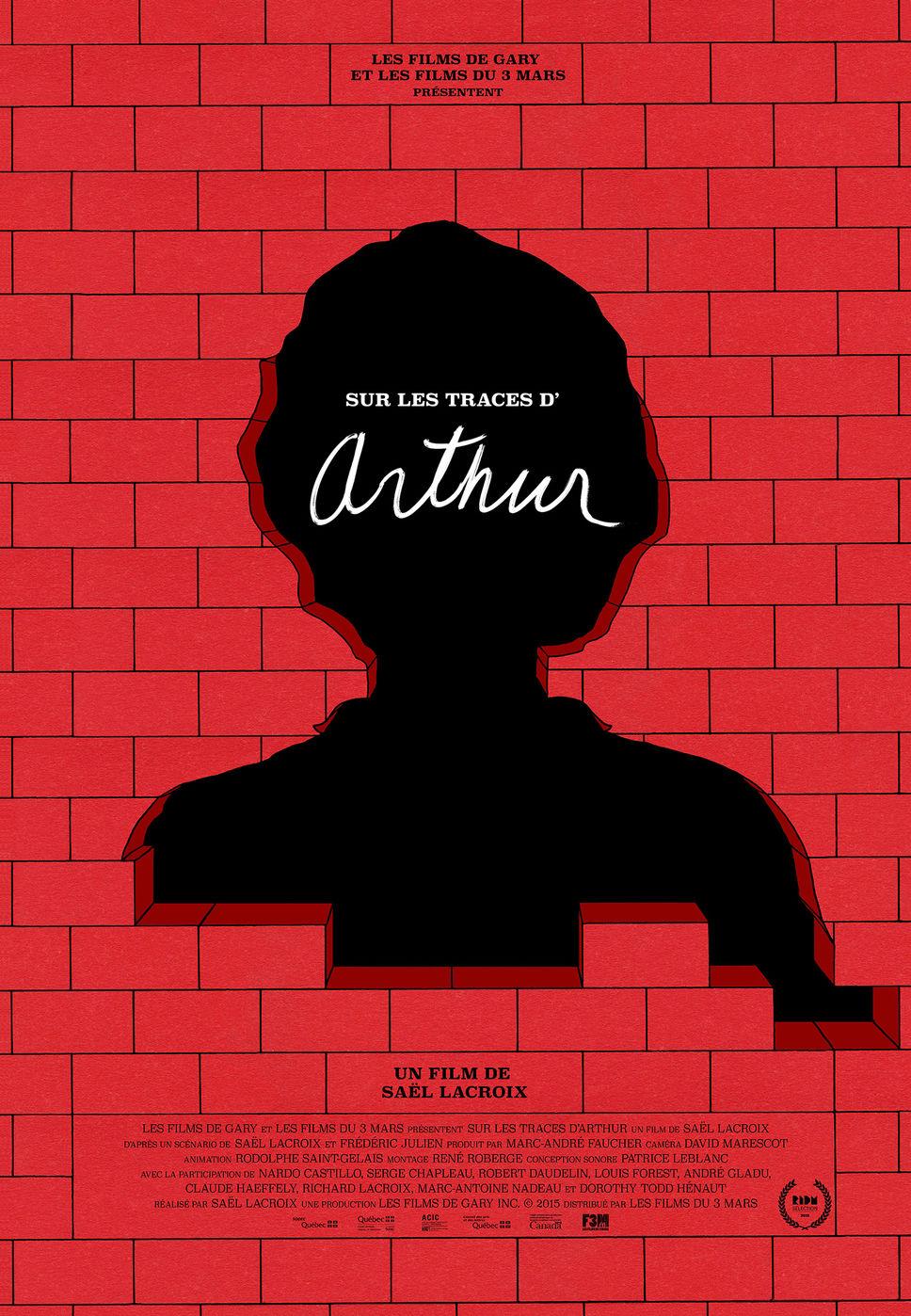 Affiche de Sur les traces d'Arthur
