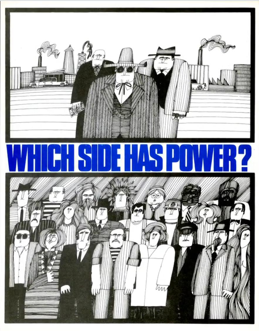 Extrait de Sur les traces d'Arthur. Affiche : Which side has power?