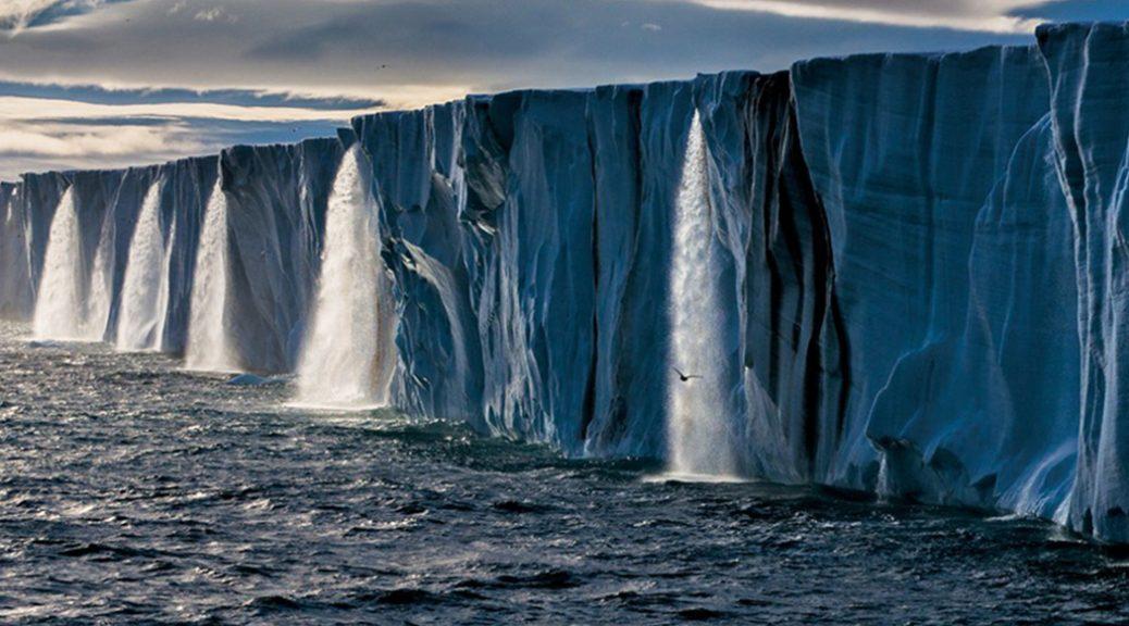 Glaciers qui fondent, dans Before the Flood.