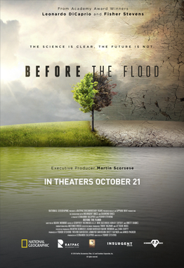 Affiche de Before the Flood