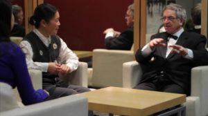 Maestro Bernabei et Doan Trang Phan, dans Une nuit sans lune