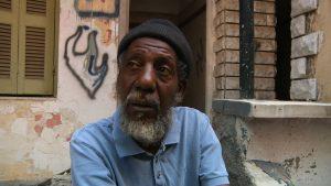 Abdallah, un réfugié soudanais, dans Combat au bout de la nuit