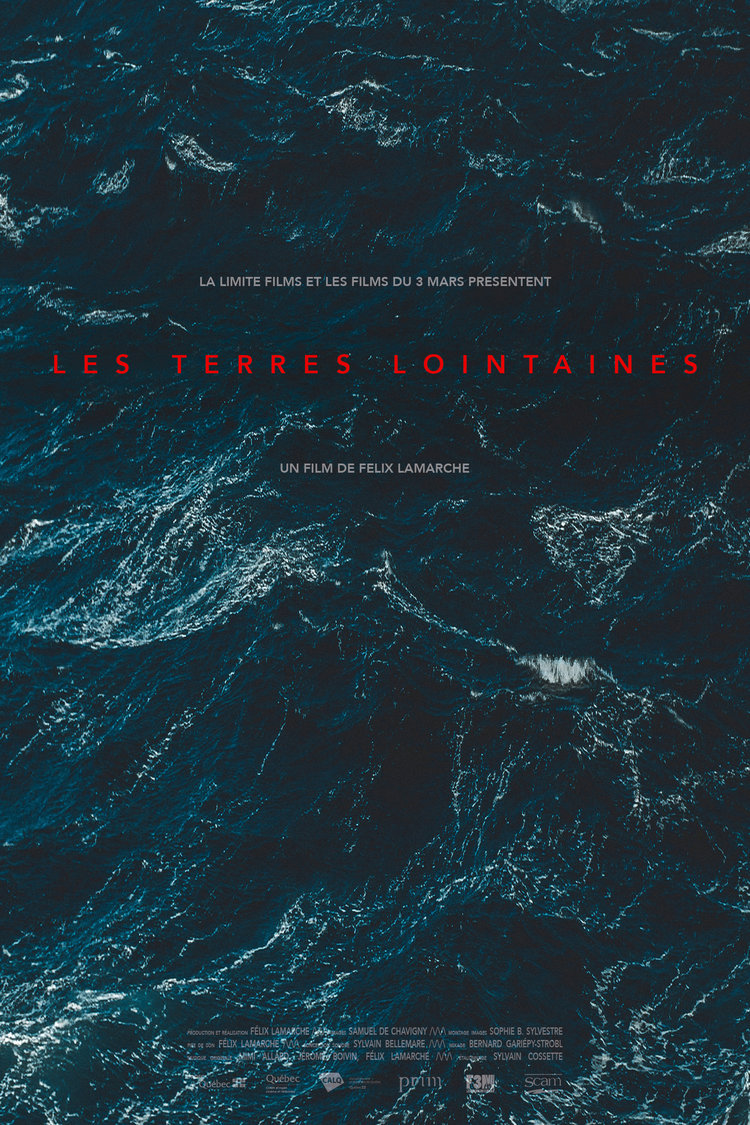 """Affiche de """"Les terres lointaines"""""""