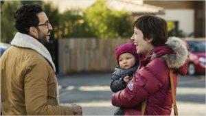 Édouard et Béné, avec Charlotte, dans Papa ou maman 2
