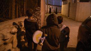 P.S. Jérusalem - les enfants se promènent dans la rue