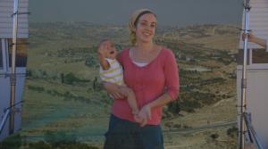 Femme avec un bébé