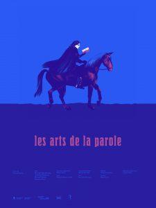 Affiche Les arts de la parole d'Olivier Godin