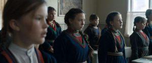 Elle Marja et ses camarades à l'école, dans Sameblod