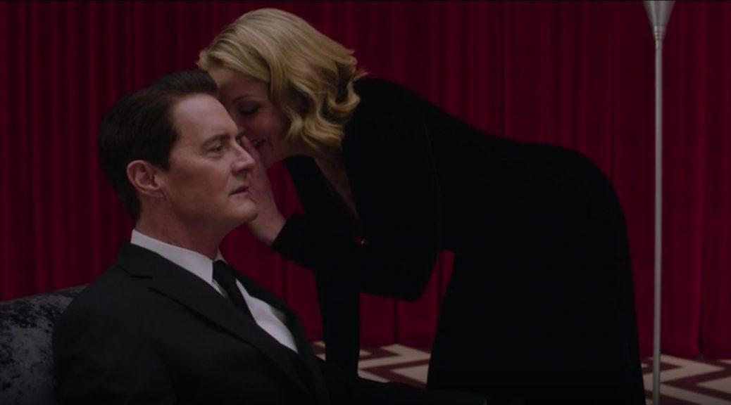Twin Peaks - Laura Palmer et Agent Dale Cooper.