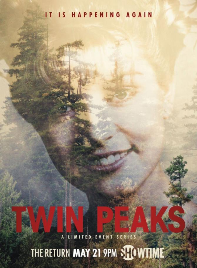 """Affiche de """"Twin Peaks"""""""