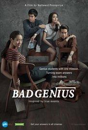 Bad genius - affiche