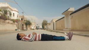 Une vision de Mohamed enfant, dans Rue de la Victoire