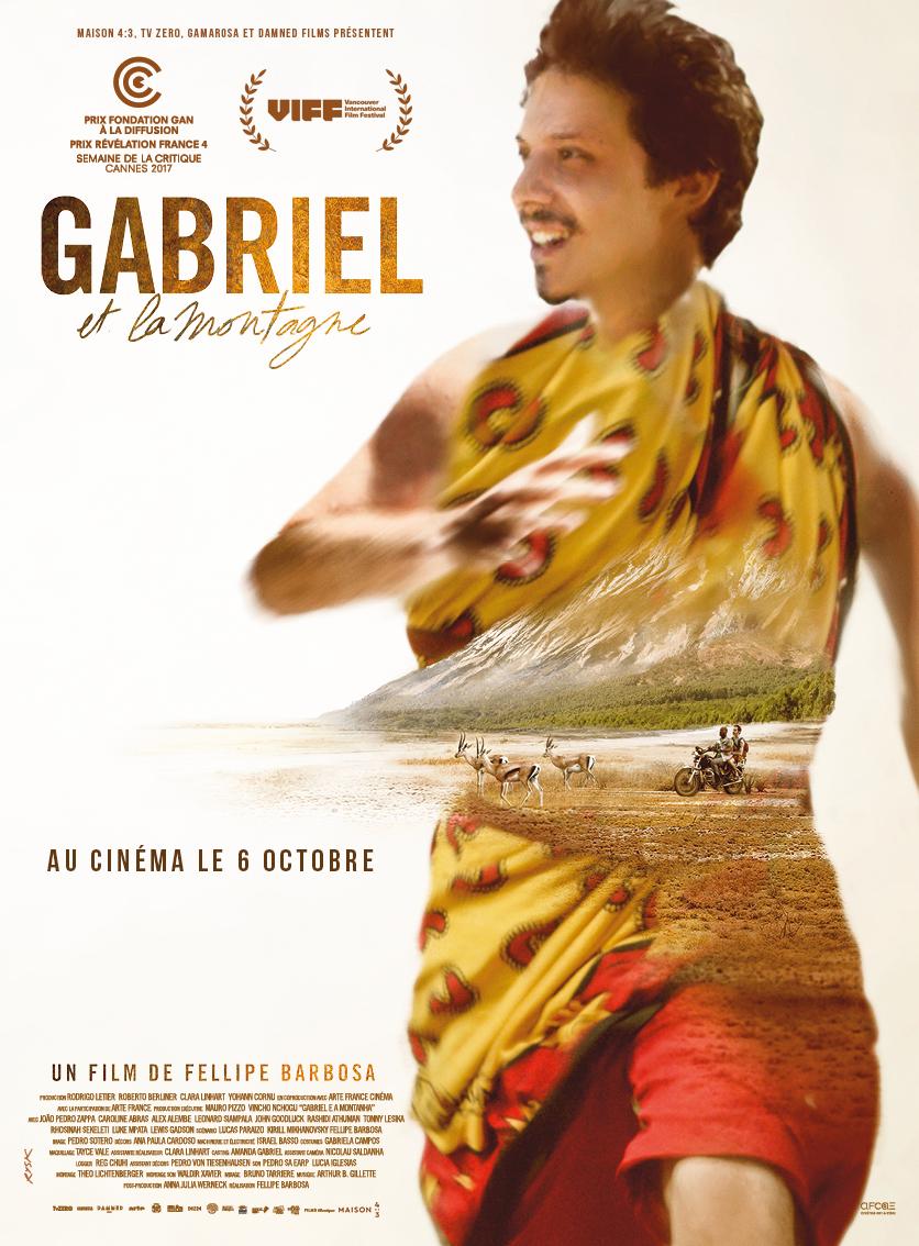 """Affiche de """"Gabriel et la montagne"""""""